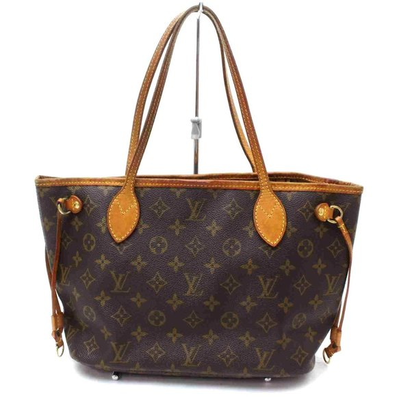 Auth Louis Vuitton Neverfull Pm Tote #7946L39
